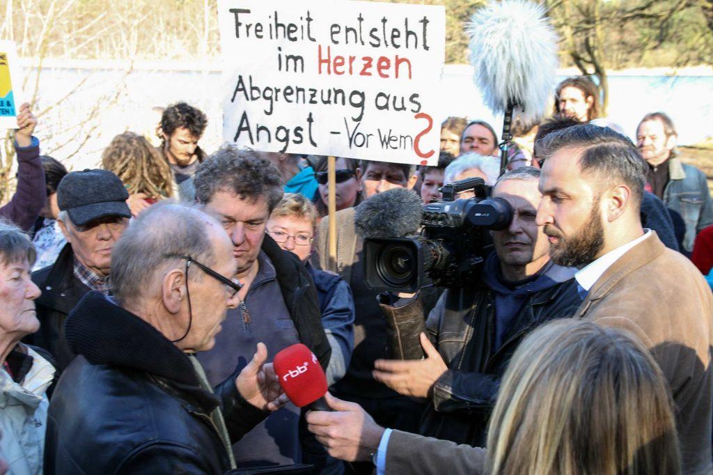 Öfentliche Diskussion mit rbb in Lychen